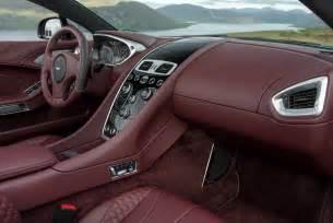 Aston Martin Vanquish Interior Pictures 2015 Aston Martin Vanquish Volante Interior 03 Photo 219