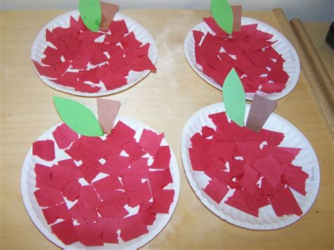 apple craft projects apple craft preschool education ideas