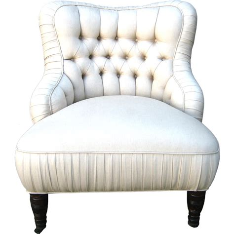tufted bedroom chair french tufted slipper chair katy elliott