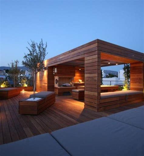 moderne terrassengestaltung die besten 25 pavillon ideen auf