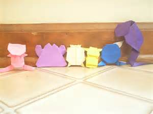 How To Make Origami Mew - make origami mew comot