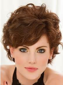 Short curly hairstyles with bangs popular haircuts