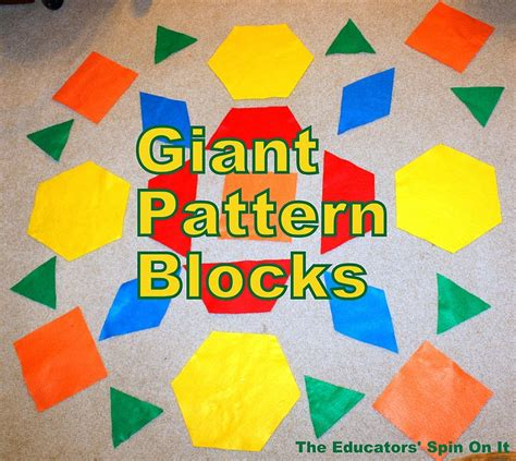 pattern block pictures kindergarten 37 best images about math pattern blocks on pinterest