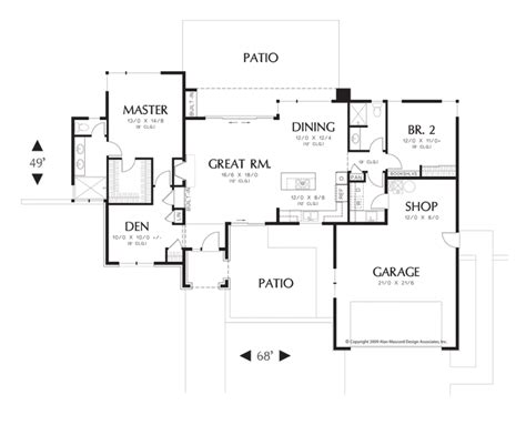 single story floor plans with open floor plan one story open floor plans rugdots