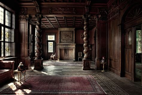 Plantation Home Interiors by Mesmerizing Abandoned Building Photography