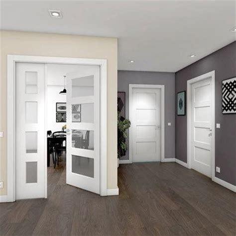 cristales puertas interiores dise 241 os de puertas de interior 2018 blancas de madera