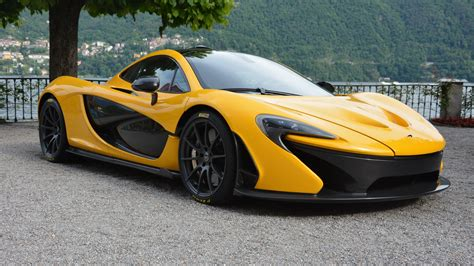 mclaren p1 side view wallpaper mclaren p1 yellow supercar side view 3840x2160