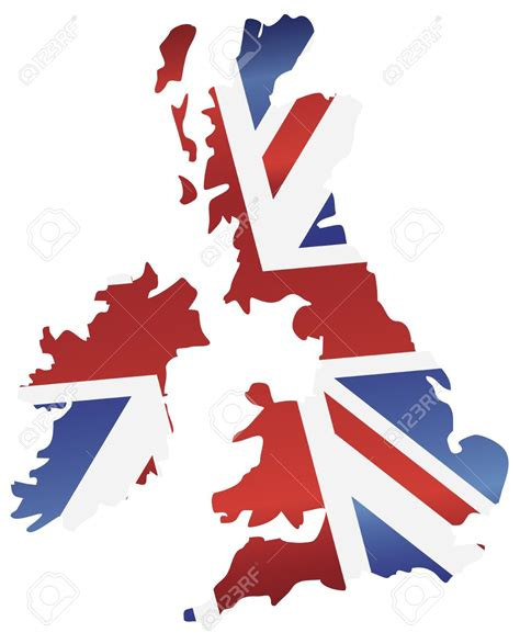 United Kingdom Outline Flag by Blank United Kingdom Clipart Map Bbcpersian7 Collections