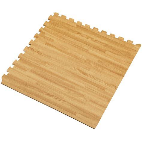 Interlocking Mat by We Sell Mats 24 Quot X 3 8 Quot Interlocking Wood Grain Foam