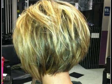 bob haircuts for thin hair back view short bob hairstyles for fine hair back view youtube
