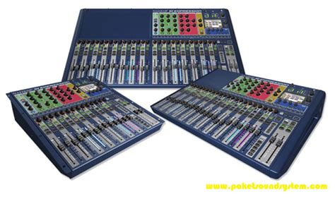 Mixer Audio Kecil mixer digital soundcraft si expression paket sound