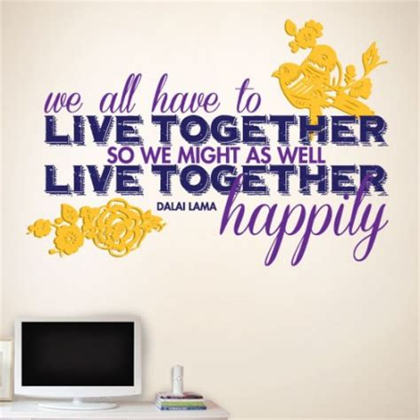 live together living together quotes quotesgram