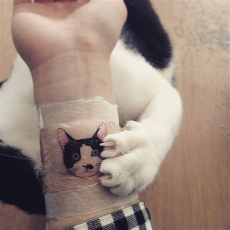cat tattoo artist cat tattoos are probably the cutest way to the
