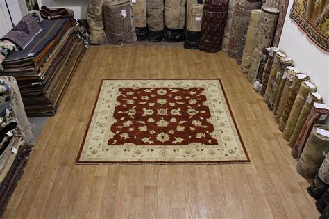 square area rugs 8x8 allover design square 8x8 oushak chobi area rug wool carpet ebay
