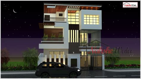 delhi house design front home design ideas commercial cum residential bedroom duplex floors house luxury