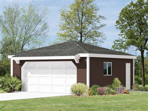 hip roof garage plans guadalupe hip roof garage plan 002d 6034 house plans and