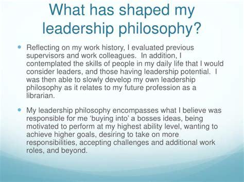leadership philosophy template ppt my personal leadership philosophy powerpoint