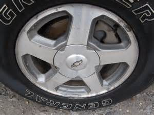 2002 Trailblazer Tires Sizes 2003 Chevrolet Truck Trailblazer Wheels Wheel 16x7 Alum