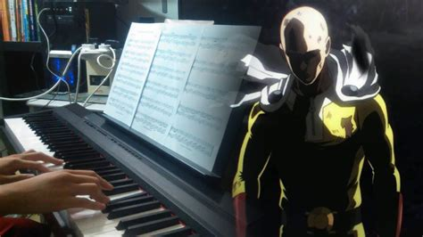 theme music sad one punch man ost sad theme piano cover chords chordify