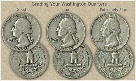 washington quarters value rising silver years