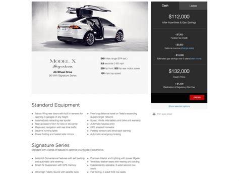 Tesla Model X Options Tesla Model X Pricing Debut At 133k Ludicrous Speed