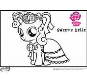 MLP Sweetie Belle Coloring Pages  Team Colors