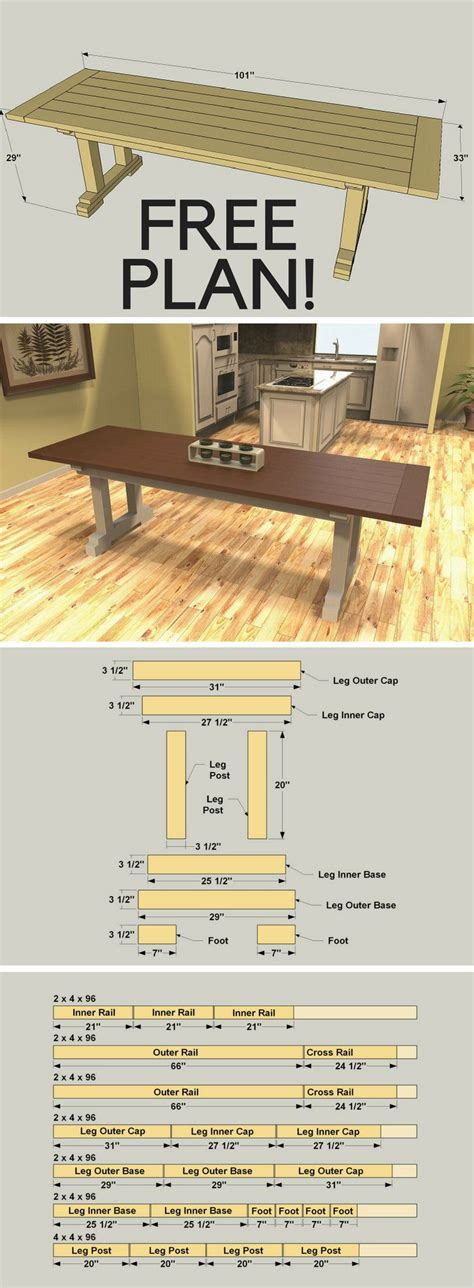 how to build a rustic farmhouse table 17 best ideas about rustic farmhouse table on
