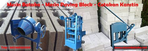 Mesin Beton Cetakan Kanstin mesin press batako mesin paving block cetakan kanstin
