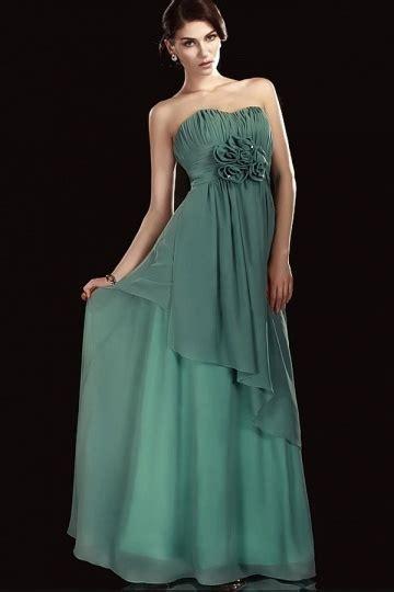 Flower Dress 8950 chiffon a line flowers empire waist sweetheart