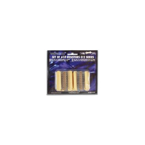 resistors kit resistor kit 1 4w 610 pcs k res e12 s electronic