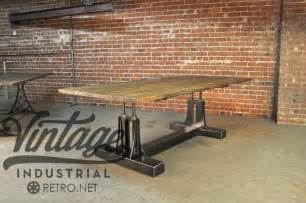 Vintage Industrial Tables » Ideas Home Design
