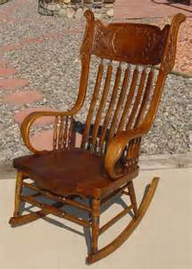 antique pressed back rocking chair 1890 s murphy chair co pressed back rocking chair