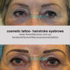 tattoo eyebrows dc before immediately after and healed after cosmetic