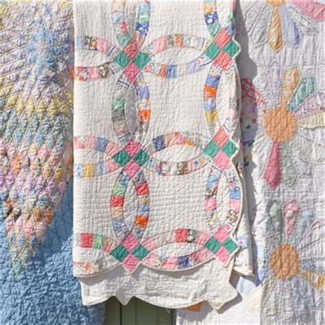 Handmade Patchwork Quilts For Sale - vintage handmade patchwork quilt quilts