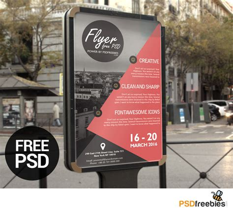 Freebie Business Event Advertisement Flyer Template Psd On Behance Business Event Flyer Templates Free