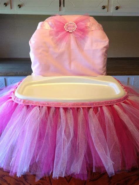 pin  virginia aleman  princess st birthday   birthday birthday highchair st