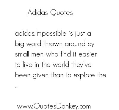 adidas quotes and sayings quotesgram