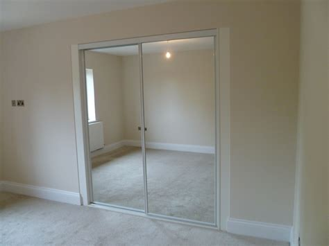 mirrored door wardrobe designs nottingham sliding doors
