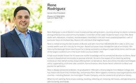 11 Impressive Realtor Bios That Win Clients Exles Templates Included Real Estate Bio Template