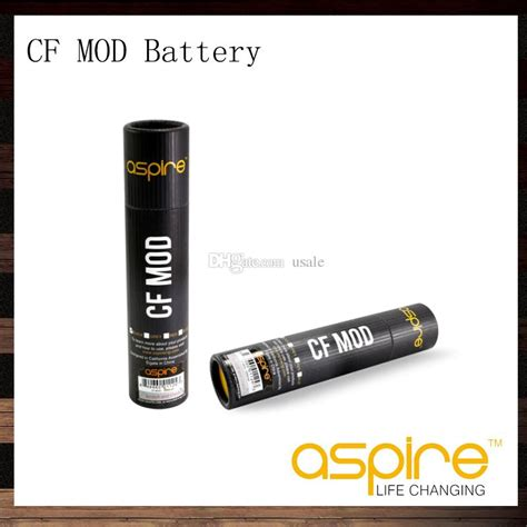 Aspire Cf Sub Carbon Fiber Battery aspire cf mod fit 18650 battery for sub ohm with carbon fiber coated 510 thread electronic