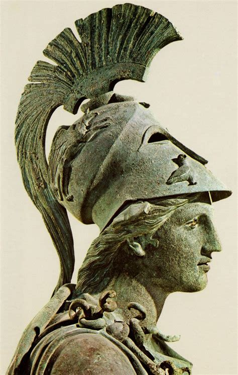 ancient greek goddess athenahairstyle bronze statue of athena from the piraeus c 340 330 bc