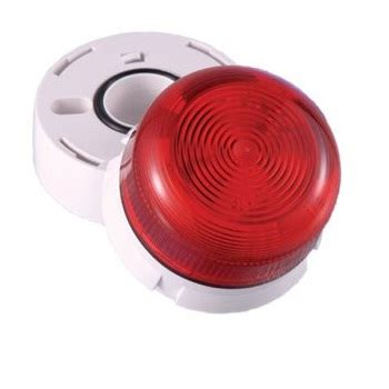 led len 230v klaxon 45 712611 flashguard led beacons lens 230v