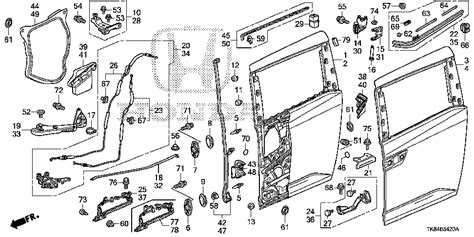honda odyssey sliding door parts diagram 2002 honda odyssey sliding door problems