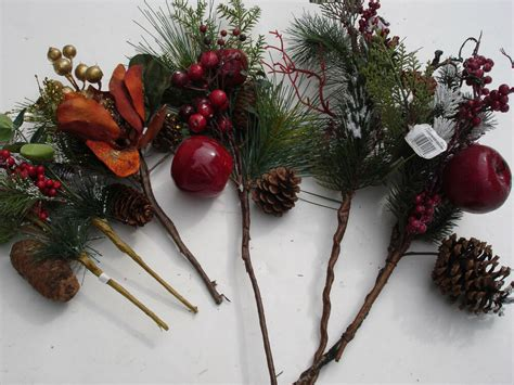 picks 6 pc pine bulk wholesale lot floral crafts flowers ret 29 99 ebay