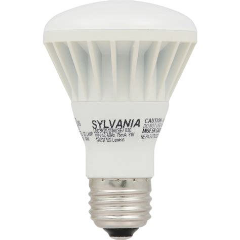 Led Flood Light Bulbs Lowes Shop Sylvania 50w Equivalent Dimmable Soft White R20 Led Flood Light Bulb At Lowes
