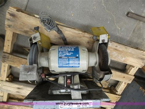 westward bench grinder government auction in by purple wave inc