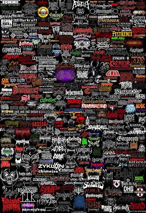metal logo metal bands logos band logos rock band logos metal