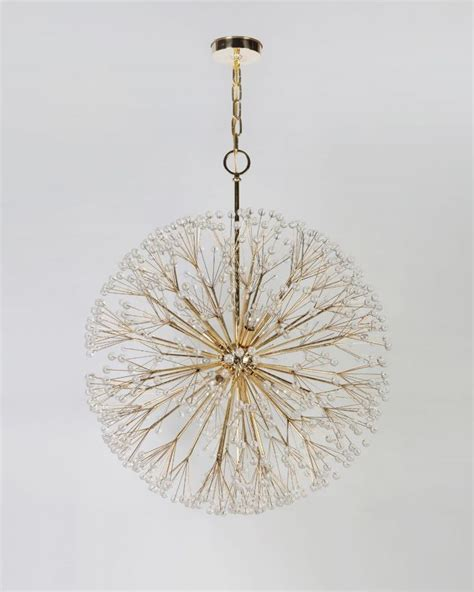 woodland nursery light fixture dandelion chandelier unique decor woodland