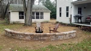 time pavers pea gravel patio walkways with brick