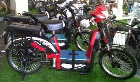 Sepeda Lipat Listrik Saturnus Murah harga jual sepeda listrik selis baru berbagai type toko siap antar